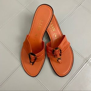 Italian Shoemakers Shoes - Italian Shoemaker Coral Sandals Sz 6